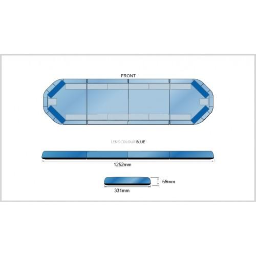 Rampe LegiFit 125cm - Leds Bleues/Capot Bleu