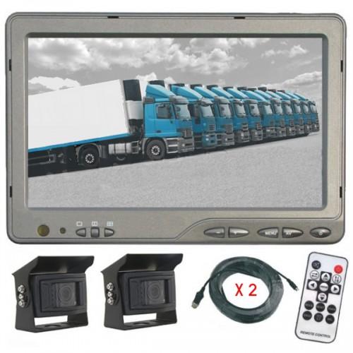 Kit de rétrovision HD avec 2 caméras