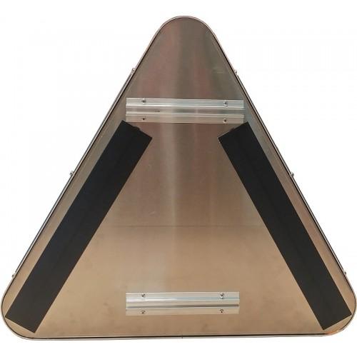 Panneaux de signalisation renforcés à LEDs à alimentation solaire intégrée