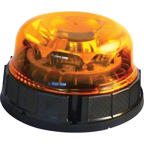 GYROPHARE LEDs MODELE 3 FONCTIONS EMBASE PLATE