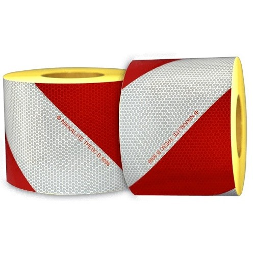 Kit 2 rouleaux MICROBILLES classe B Rouge/Blanc