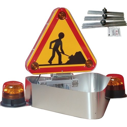 ENSEMBLE COMPACT TRIFLASH 500 AK5 RELEVAGE ELECTRIQUE CARENAGE ALUMINIUM 2 GYROS