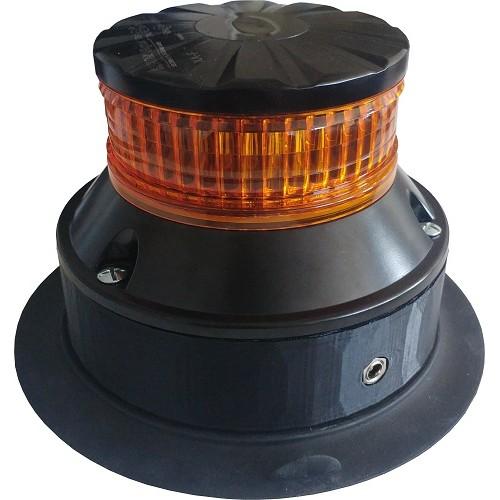 GYROPHARE LEDs EMBASE MAGNETIQUE AUTONOME